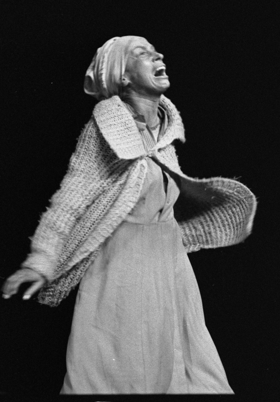 Yvonne Bryceland in CAPAB's production of Boesman and Lena
